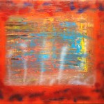 """Title: """"Hope in Hell"""" Size: 1,20 x 0,90 m Material: Acryl on Canvas Price: € 480,-"""